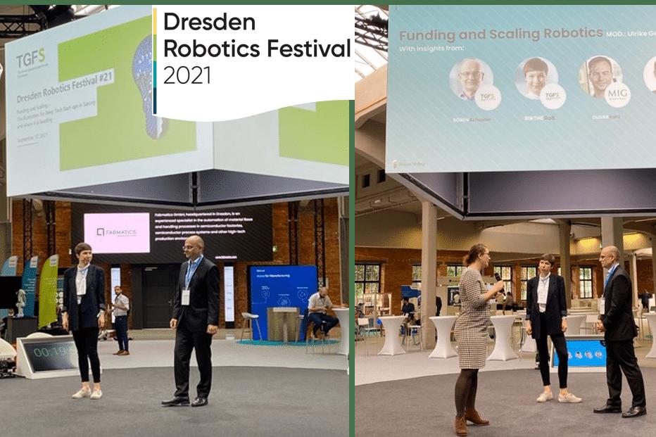 TGFS beim Dresden Robotics Festival