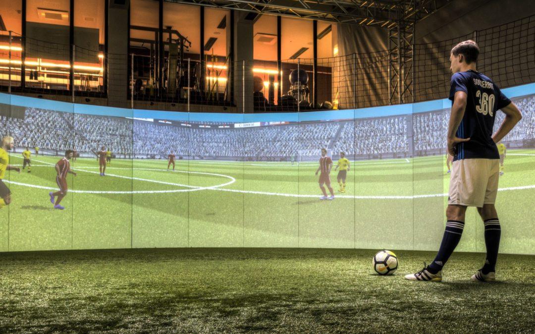 SoccerBot360 in Premier League im Einsatz